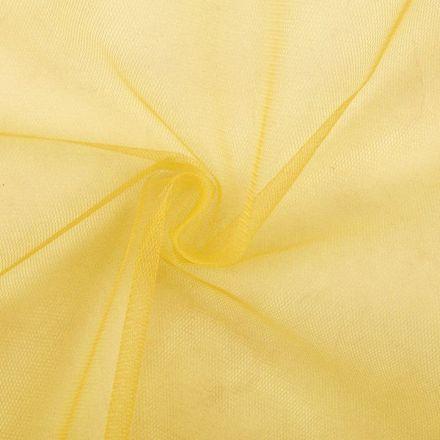 Metráž: Tyl oděvní šíře 150 cm - žlutá