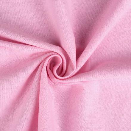 Metráž: Bavlněný flanel šíře 155 cm - růžová