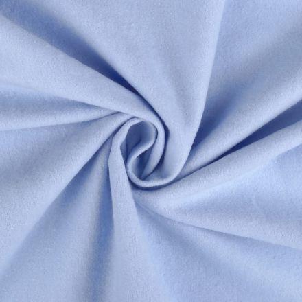 Metráž: Bavlněný flanel šíře 155 cm - modrá