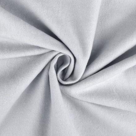 Metráž: Bavlněný flanel šíře 155 cm - šedá