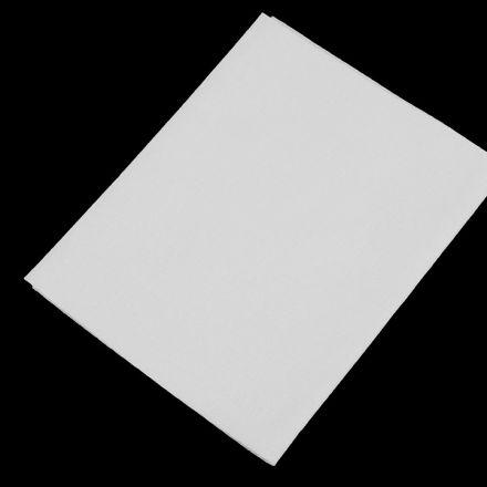 Galanterie: Nažehlovací záplaty 17x45 cm - bílá