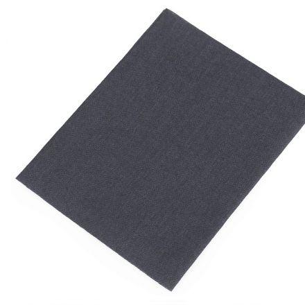 Galanterie: Nažehlovací záplaty 17x45 cm - tmavě šedá