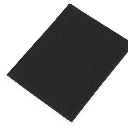 Galanterie: Nažehlovací záplaty 17x45 cm - černá