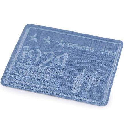 Galanterie: Nažehlovačka 7x8,5 cm - sv. modrá