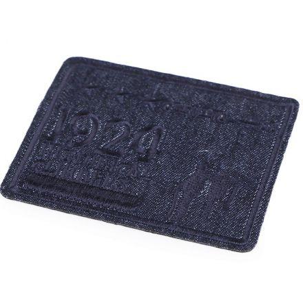 Galanterie: Nažehlovačka 7x8,5 cm - tmavě modrá