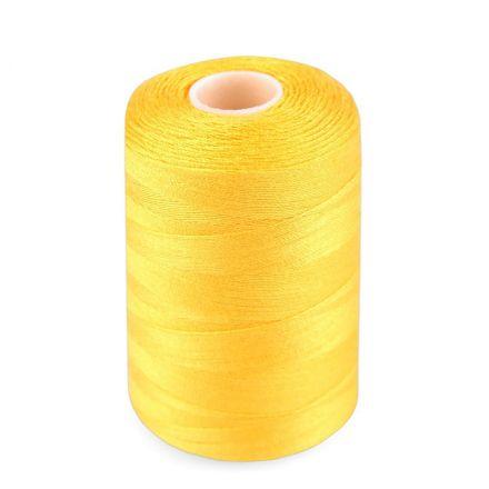 Galanterie: Polyesterové nitě - žlutá