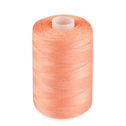 Galanterie: Polyesterové nitě - lososová
