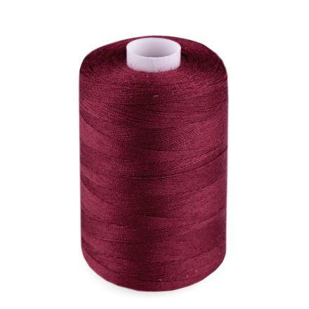 Galanterie: Polyesterové nitě - bordó
