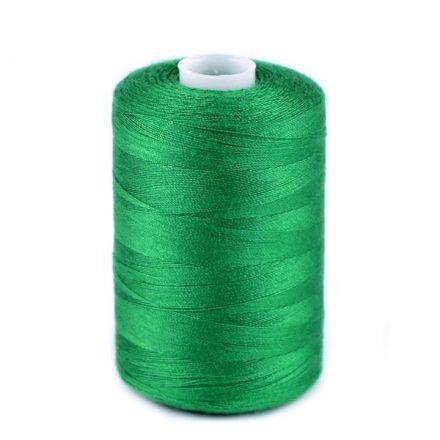 Galanterie: Polyesterové nitě - trávová zelená