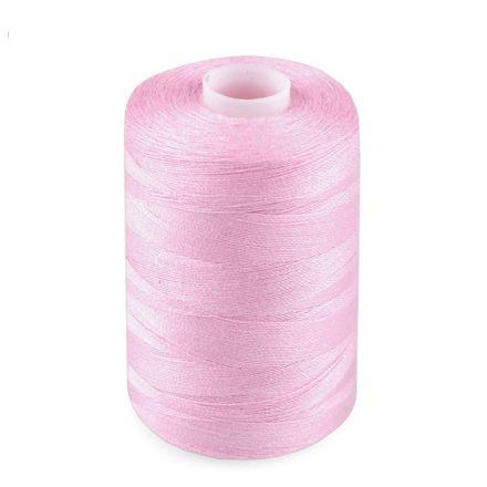 Galanterie: Polyesterové nitě - světle růžová