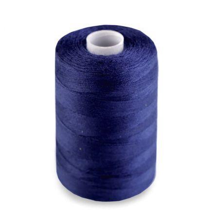 Galanterie: Polyesterové nitě - modrá pařížská