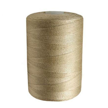Galanterie: Polyesterové nitě - světle béžová