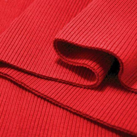 Galanterie: Elastický náplet 16 x 80 cm - červená