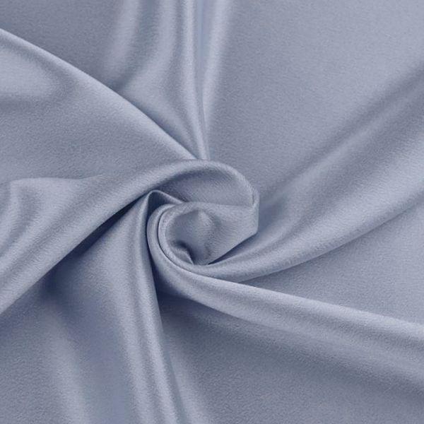 Satén krešovaný šíře 145 cm - modrošedá