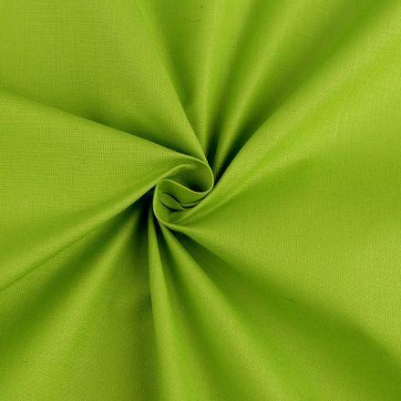 Metráž: Bavlněná látka šíře 160 cm - světle zelená
