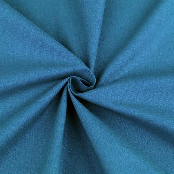 Bavlněná látka šíře 160 cm - modrá