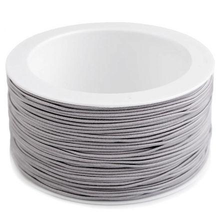 Galanterie: Kulatá pruženka 1,2 mm - šedá