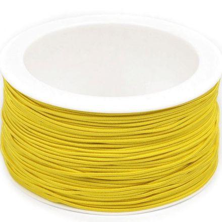 Galanterie: Kulatá pruženka 1,2 mm - žlutá