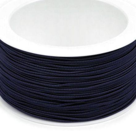 Galanterie: Kulatá pruženka 1,2 mm - tmavě modrá
