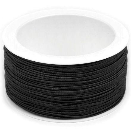 Galanterie: Kulatá pruženka 1,2 mm - černá
