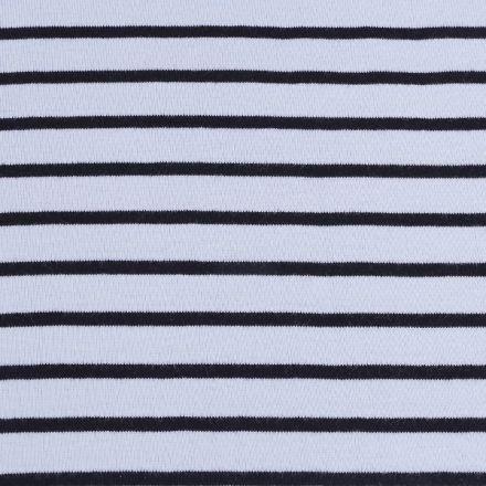Metráž: Úplet bavlněný - světlemodrá/tmavě modrá