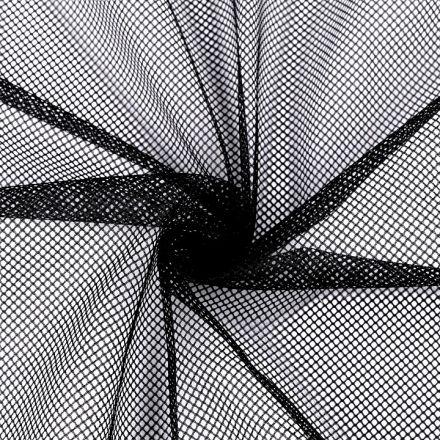 Metráž: Síťovina / podšívka - černá