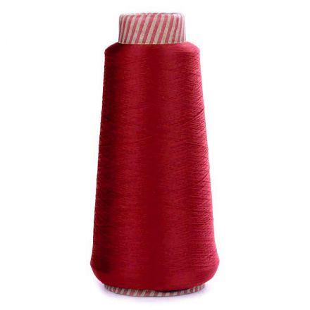 Galanterie: Nit elastická pro overlocky 5000 m - tmavě červená