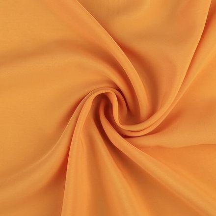 Metráž: Šifon šíře 145 cm - hořčicová