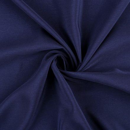 Metráž: Šifon šíře 145 cm - tmavě modrá