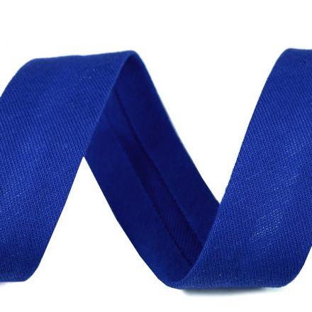 Galanterie: Šikmý proužek šíře 20 mm - královsky modrá