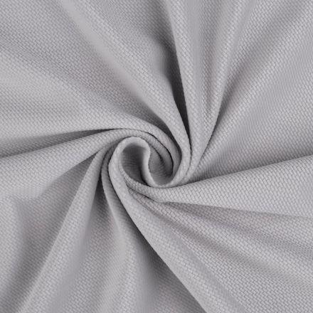 Metráž: Velvet strukturovaný - šedá