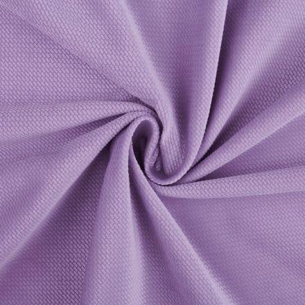 Metráž: Velvet strukturovaný - lila