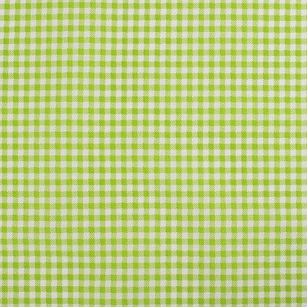 Metráž: Bavlněná látka káro - zelená
