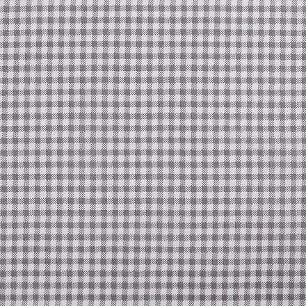 Metráž: Bavlněná látka káro - šedá
