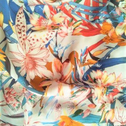 Metráž: Květovaná šatovka