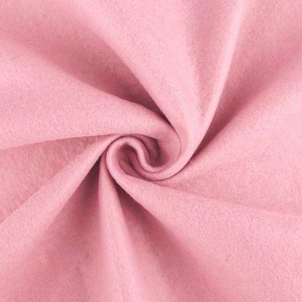 Galanterie: Filc / plsť šíře 90 cm - světle růžová