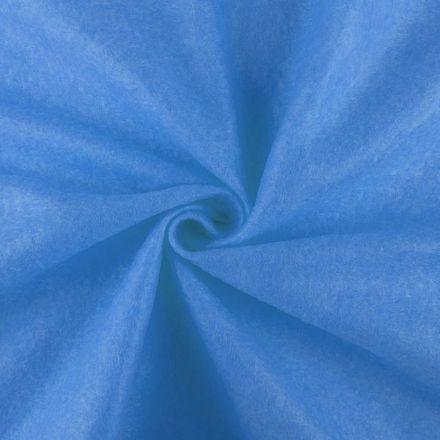 Galanterie: Filc / plsť šíře 90 cm - azurová