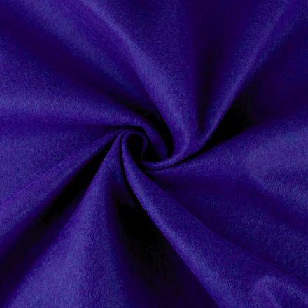 Galanterie: Filc / plsť šíře 90 cm - borůvková