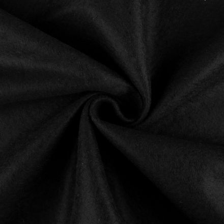 Galanterie: Filc / plsť šíře 90 cm - černá