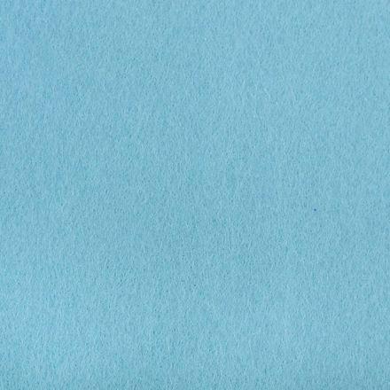 Galanterie: Filc / plsť šíře 110 cm - světle modrá
