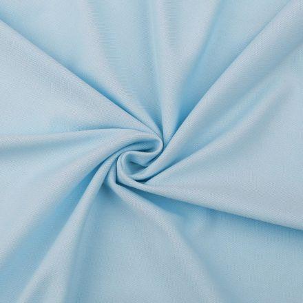 Metráž: Tričkovina piké - světle modrá