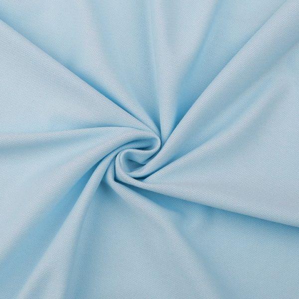 Tričkovina piké - světle modrá