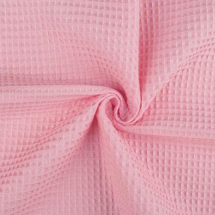 Metráž: Vaflovina šíře 155 cm - růžová