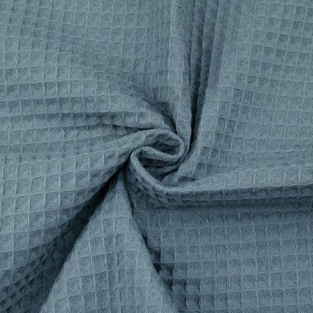 Metráž: Vaflovina šíře 155 cm - modrošedá