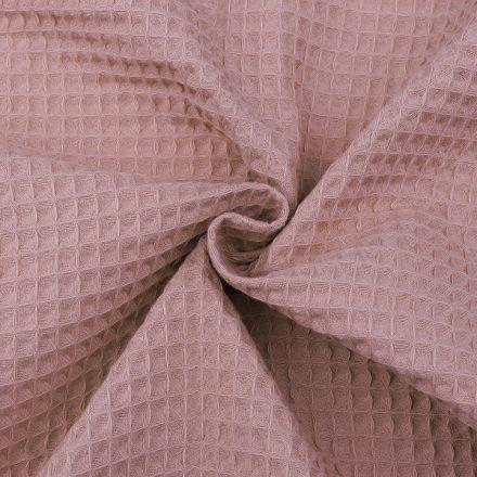 Metráž: Vaflovina šíře 155 cm - starorůžová
