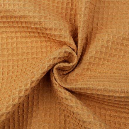 Metráž: Vaflovina šíře 155 cm - hořčicová