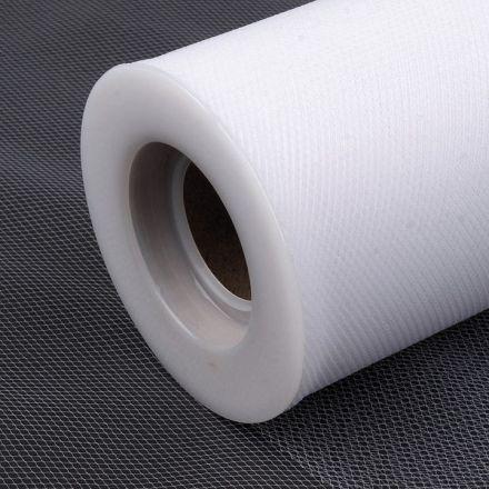 Galanterie: Tyl / stuha šíře 15 cm - bílá
