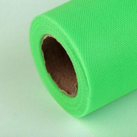 Galanterie: Tyl / stuha šíře 15 cm - zelená
