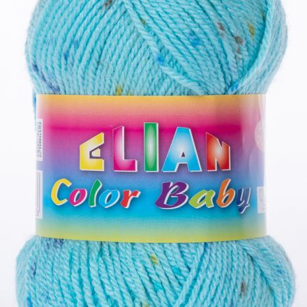 Galanterie: Pletací příze Elian Color Baby (50g) - modrá