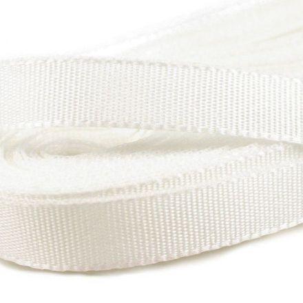 Galanterie: Stuha taftová šíře 9 mm (10m) - bílá